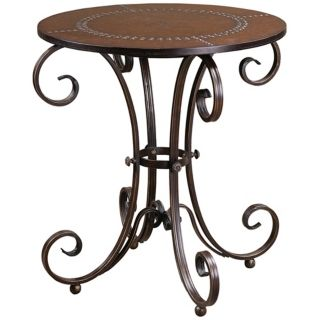 Uttermost Lyra Accent Table   #T0554