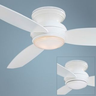 "44"" Minka Aire Concept White Outdoor Ceiling Fan   #R2649"