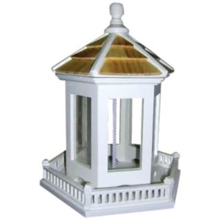 Hexagonal Gazebo Hanging Bird Feeder   #H9684