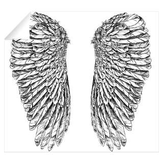 Wall Art  Wall Decals  Angel Wings Wall Decal