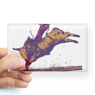 Rodeo Bull Rider Stickers  Car Bumper Stickers, Decals