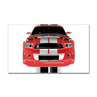 Ford Mustang Stickers  Car Bumper Stickers, Decals