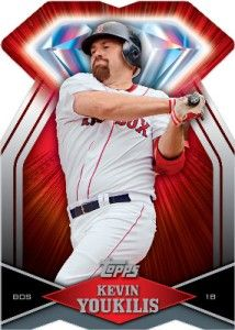 Kevin Youkilis 2011 Topps Diamond Die Cut Card DDC 128
