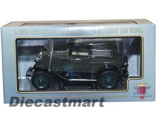 CLASSICS 118 1931 FORD MODEL A TUDOR NEW DIECAST MODEL KEWANEE GREEN