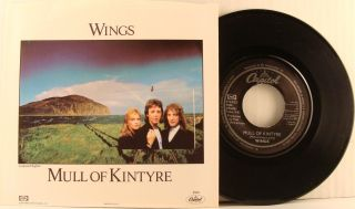 Paul McCartney   Beatles) Mull Of Kintyre USA 45 With Picture Sleeve