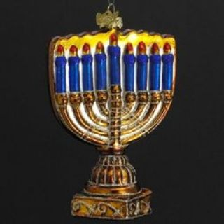 noble gems hanukkah menorah ornament kurt adler item c1739 4 5 noble