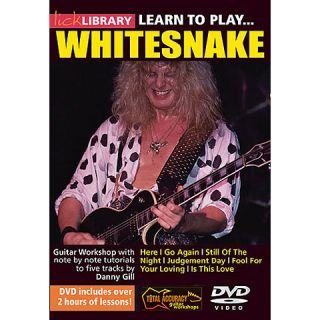 Lick Library Learn to Play Whitesnake Guitar DVD