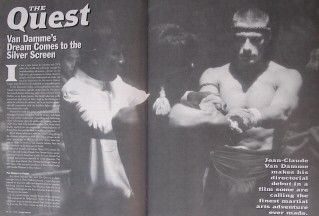 96 Inside Kung Fu Magazine Jean Claude Van Damme Black Belt Karate