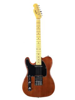 Stellah T Left Hand Electric Guitar Deep Blonde Alderwood Body Maple