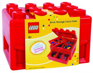 Lego Deluxe Brick and Minifigure Storage Carrying Case with Pull Out