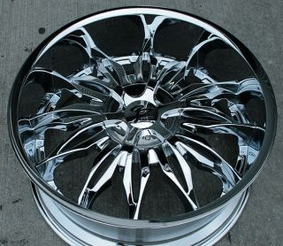 RVM 107 20 Chrome Rims Wheels Lincoln MKS MKZ MKX