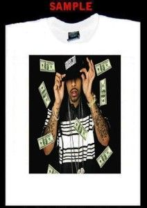 Lil Flip Custom T Shirt Tee Rap Hip Hop Houston 250