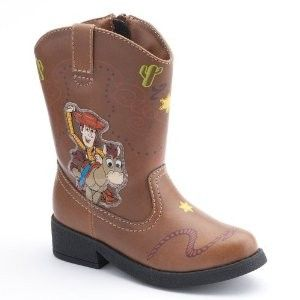 Story Light Up Cowboy Boots Woody Rodeo Halloween Costume Shoes