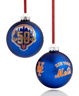 Kurt Adler Christmas Sports Ornament, MLB NY Mets 50th Anniversary