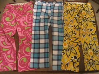 Pairs Mens Loudmouth Golf Pants & Shorts Size 32 Waist Cotton Candy
