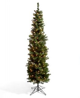 Kurt Adler Christmas Tree, 6 Winchester Pine Pencil Pre Lit