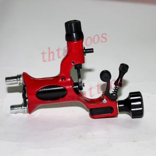 Hot Red Rotary Tattoo Machine Gun Shader Supply One Year Warranty