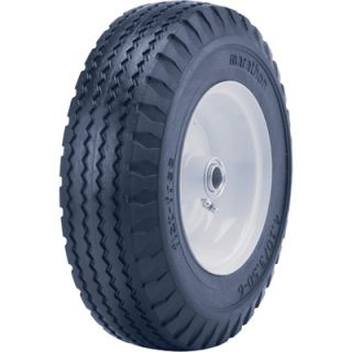 Marathon Tires Flat Free Hand Truck Tire 3 4in Bore 4 10 3 50 6in