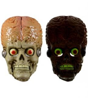 Mars Attacks SDCC Exclusive PVC Glow in The Dark Costume Mask New