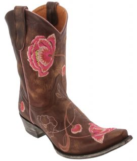 Old Gringo Brass Pink Leather Marsha 10 Western Boots Womens