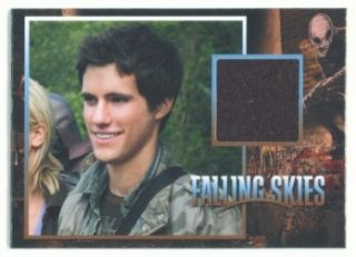 Drew Roy Hal Mason Costume Card CC7 248 350 Falling Skies Season 1