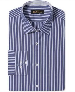 Ben Sherman Dress Shirt, Slim Fit Stripe Long Sleeve Shirt   Mens