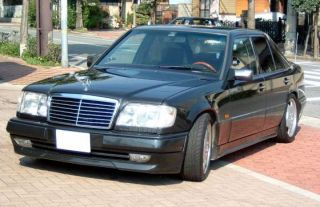 86 93 Mercedes Benz W124 E Class S600 Black Front Grille Grill with
