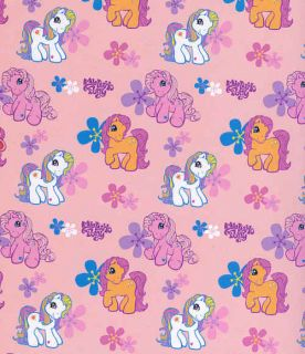 My Little Pony Girl Pink Vinyl Shower Curtain New