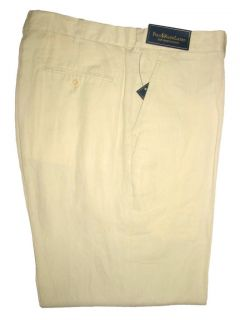 2011 Season Polo Ralph Lauren Mens Linen Silk Cotton Preston Fit Pants