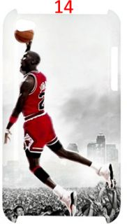 Michael Jordan Chicago Bulls NBA iPod Touch 4G Case Casing