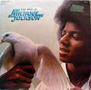Michael Jackson The Best of LP VG M5 194V1 Vinyl 1975 Record