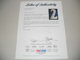 Michael Jordan Signed Nike Wizards Jersey PSA DNA Proof