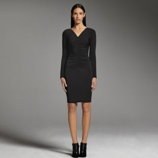 Narciso Rodriguez for Designation Ruched Sheath Dress Michelle Obamas