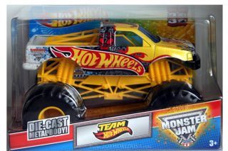 2012 Hot Wheels Monster Jam Team Hot Wheels 1 24 Scale