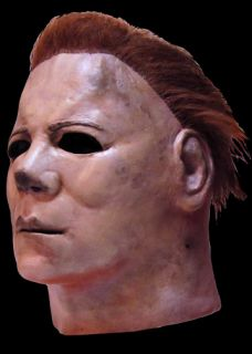Official Michael Myers Halloween II Mask Horror Latex Mask Prop New