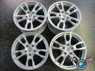 Four 2013 Porsche Boxster Factory 19 Wheels Rims Cayman