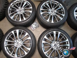 Four 2011 Infiniti G37S G37 Factory 19 Wheels Tires Rims NO9A 985 SK77