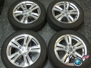 Four 2011 12 Honda CRZ Factory 16 Wheels Tires Rims OEM Civic Accord.