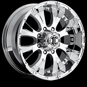Chrome Extreme NX 2 Wheels Rims 5 Lug 2007 Toyota Tundra 17x8