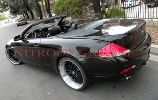 Wheels Black BMW 6 7 Series E63 E65 645 650 M6 745 750 760 GT 1