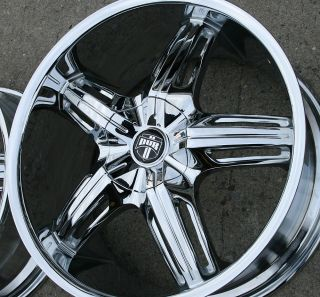 Dub Drone 5 S155 20 Chrome Rims Wheels BMW x3 E83 20 x 8 5 9 5 5H 20