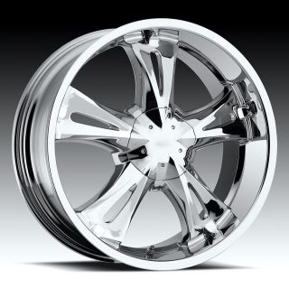 5X127 5X135 CHROME MILANNI BITCHIN WHEELS RIMS 5 LUG YUKON TAHOE F 150