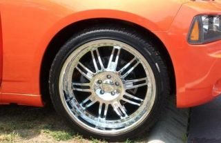 20inch Rims and Tires Wheels Package Chrome Starr 769