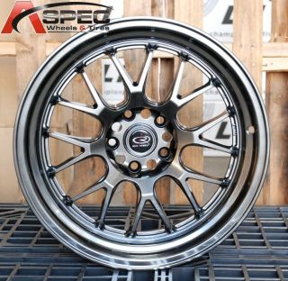 18X9.5 ROTA MXR R 5X114.3 +38 73 GOLD MACHINED LIP WHEELS FIT RSX TSX