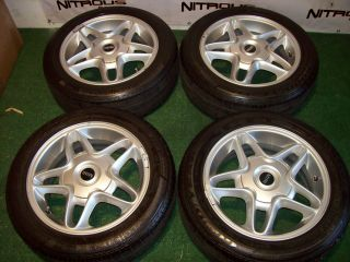 16 Factory Mini Cooper Wheels Countryman S OEM Silver Goodyear Tires