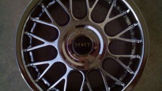New Chrome Wheels Rims 16 inch 4 Lug 4x100 Honda Civic Toyota