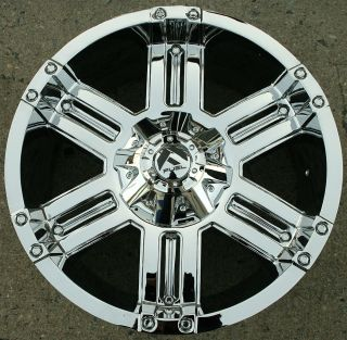 GAUGE D503 20 CHROME RIMS WHEELS YUKON DENALI 99 up / 20 x 9.0 6H  12