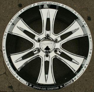 Brawn 714 22 Chrome Rims Wheels Tahoe Avalanche 22 x 9 5 6H 15