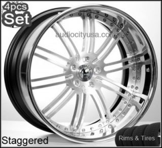 24 AC Forged Custom Wheels and Tires Rims 300C Magnum Charger