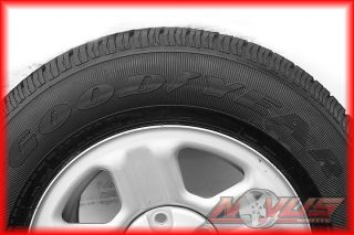 16 Jeep Wrangler Grand Cherokee Factory Steel Wheels Goodyear Tires